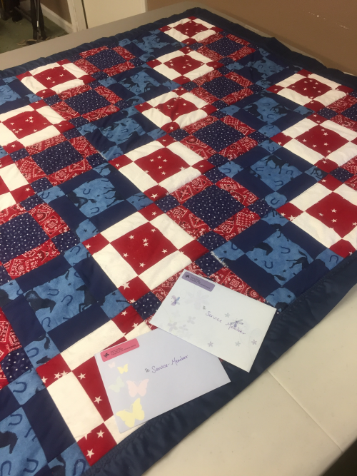 Wounded Warrior Quilt'