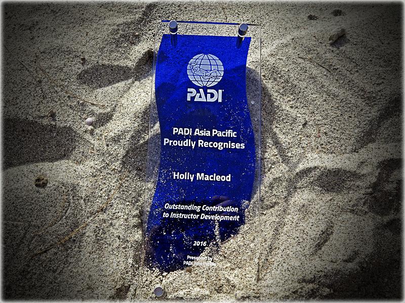Platinum PADI Course in Gili Islands, Indonesia