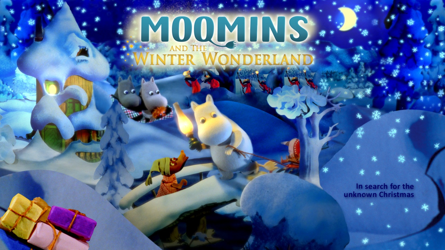 Moomins and The Winter Wonder Wonderland