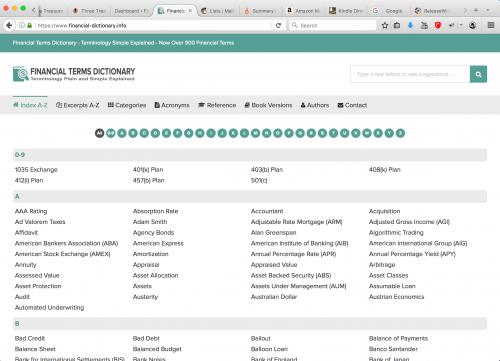 Screenshot Website'