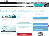 Europe Market Report for Spinal Interbody Devices 2017