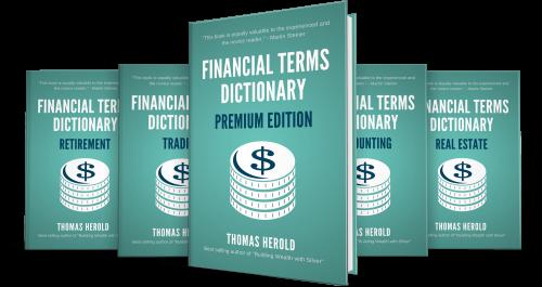 Financial Book Series Mockup'