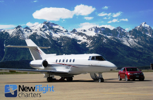 Private Jet Charter at Jackson Hole Airport'