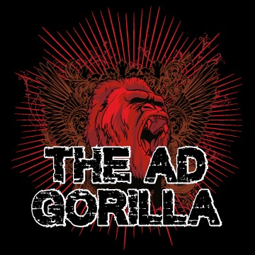 Company Logo For The Ad Gorilla Marketing Agency'