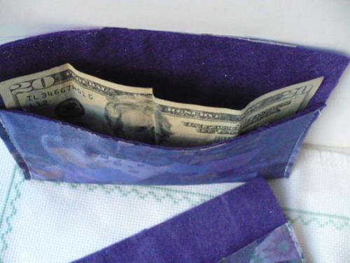 Markets Of Sunshine Purple Passion Fabric Envelopes'