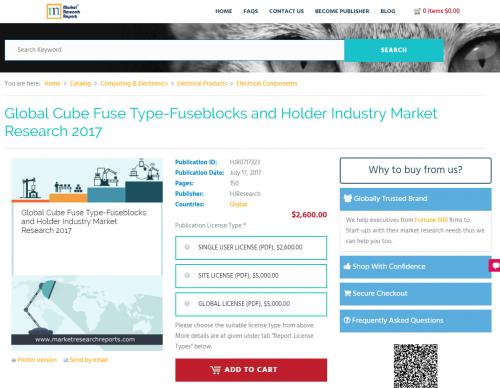 Global Cube Fuse Type-Fuseblocks and Holder Industry Market'