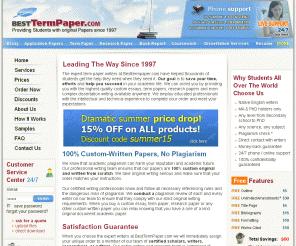 best term paper'