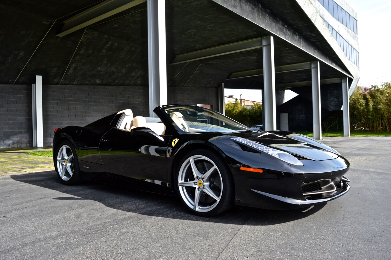 Ferrari 458 Available In Los Angeles