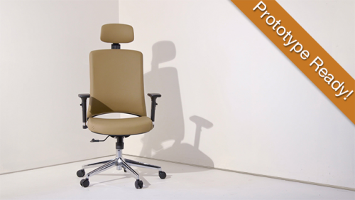 The Moderain Chair Launched on Indiegogo'