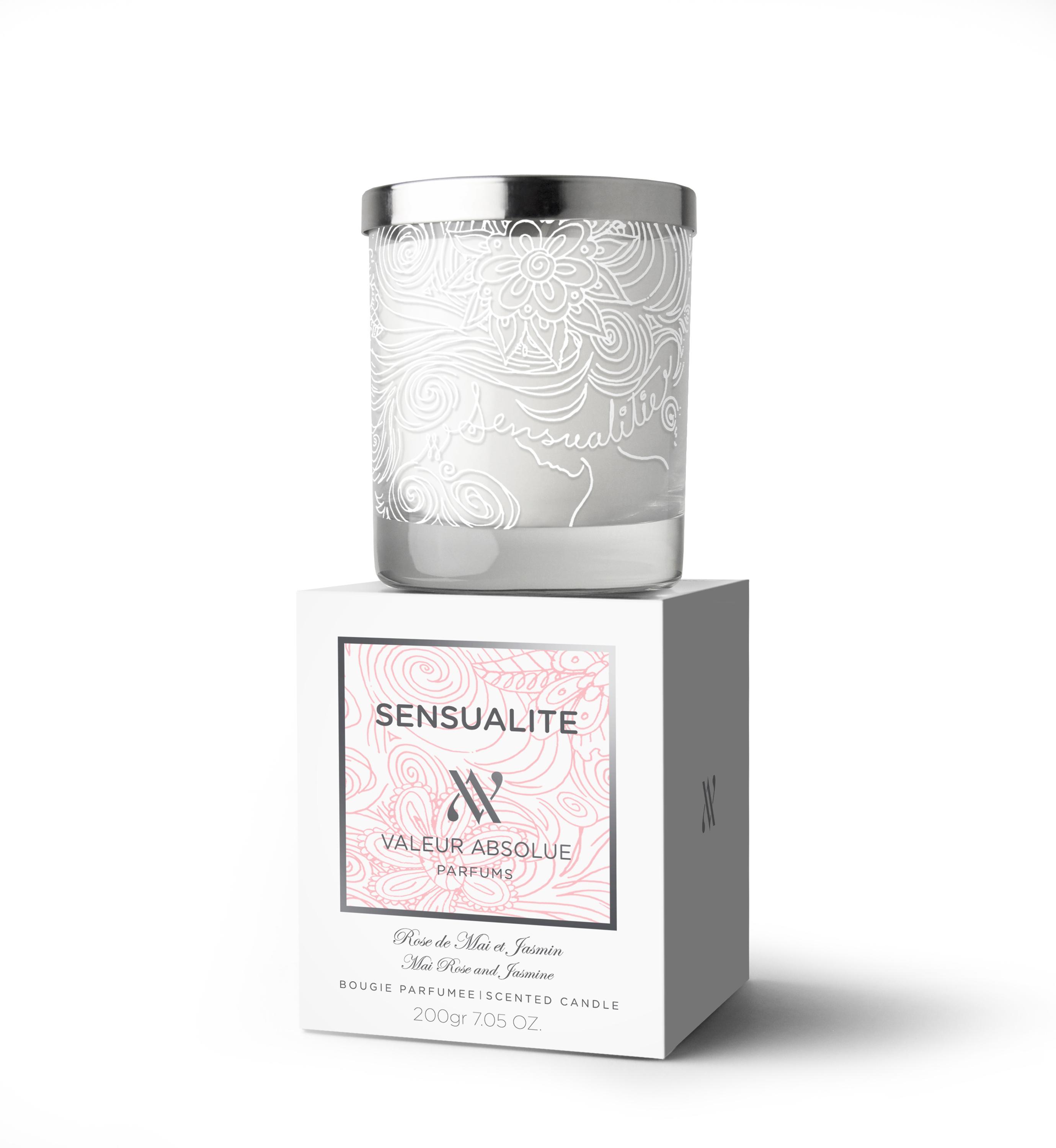 Sensualite Luxury Candle from Valeur Absolue