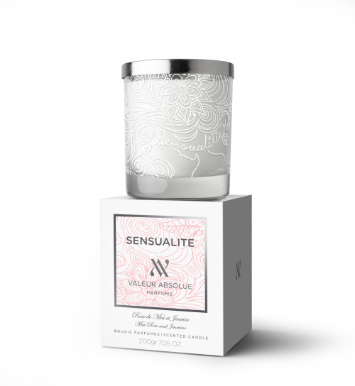 Sensualite Luxury Candle from Valeur Absolue'