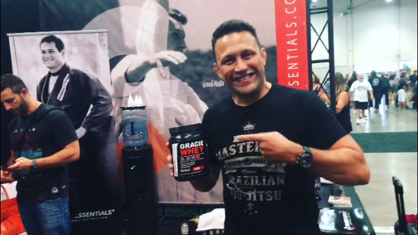 Renzo Gracie at World Masters IBJJF 2017