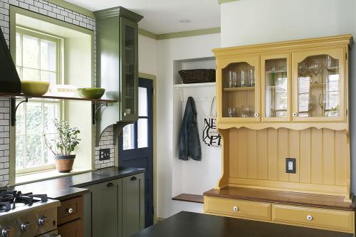 Mount Airy Kitchen Hutch'