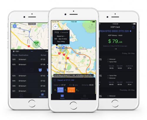 New Transportation App Kiwi Hub'