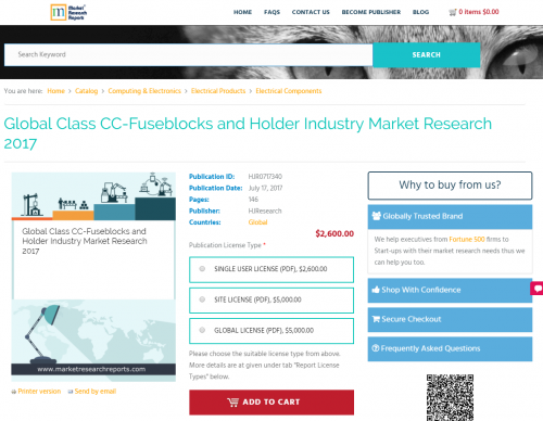 Global Class CC-Fuseblocks and Holder Industry Market'