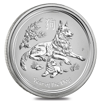 Lunar series Silver Year of the Dog