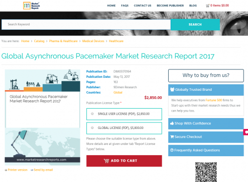 Global Asynchronous Pacemaker Market Research Report 2017'