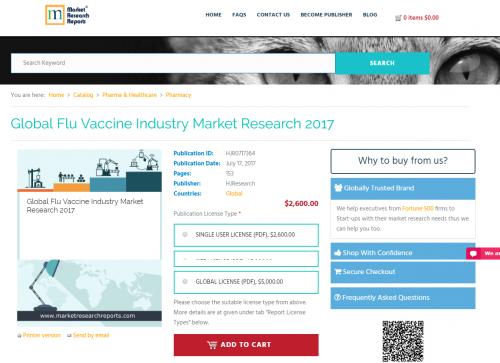 Global Flu Vaccine Industry Market Research 2017'