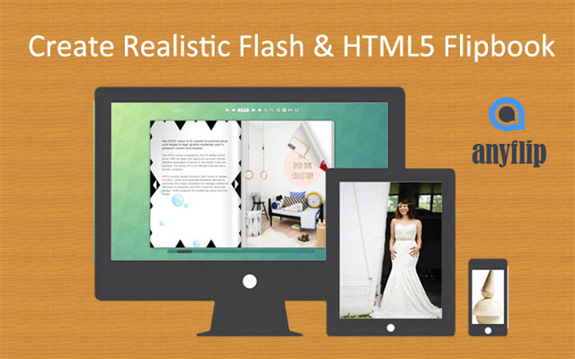 AnyFlip Offers Solutions to PDF to Flash Page Flip Book
