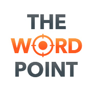 Company Logo For The Word Point'