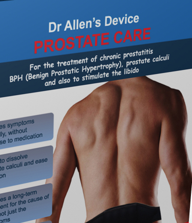 Prostate Treatment with Dr Allen's Device
