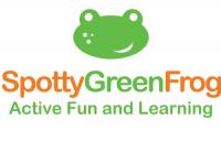 Spotty Green Frog Logo
