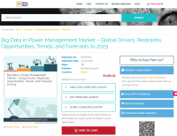 Big Data in Power Management Market – Global Drive