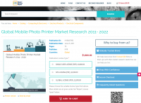 Global Mobile Photo Printer Market Research 2011 - 2022