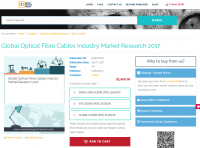 Global Optical Fibre Cables Industry Market Research 2017