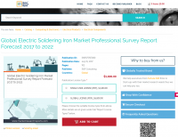 Global Electric Soldering Iron Market Professional Survey