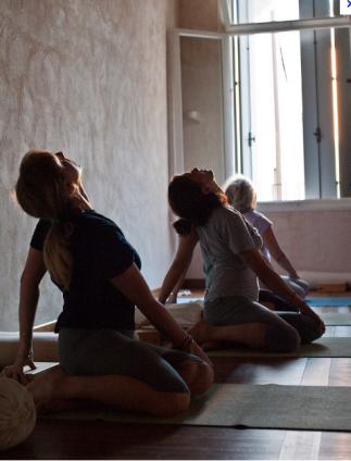 Manage Snoring through Yoga'