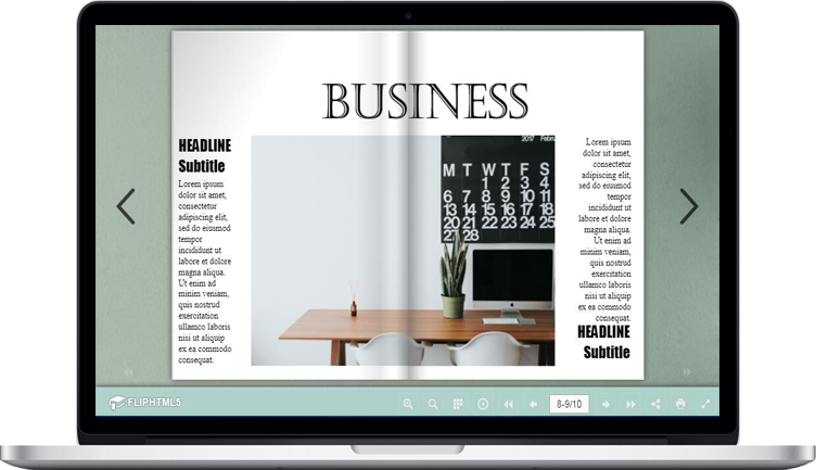 FlipHTML5 Launches Business Magazine Templates