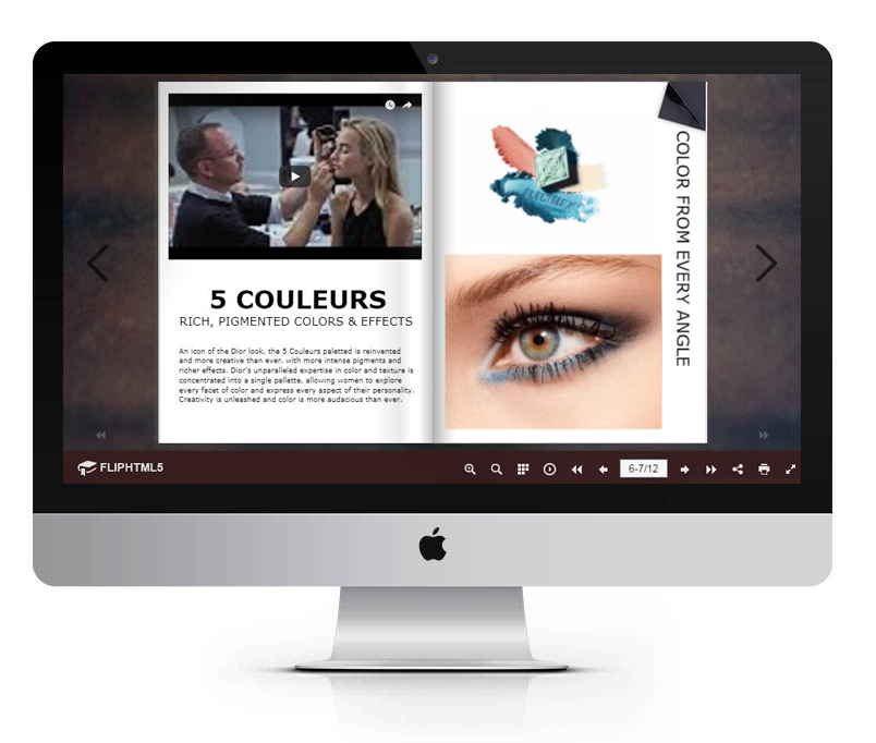 FlipHTML5 Releases Beauty Magazine Templates for Fashion