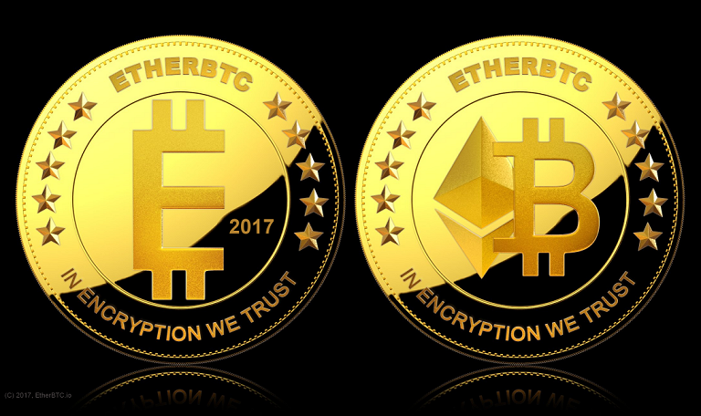 The EtherBTC coin.
