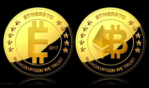 The EtherBTC coin.'