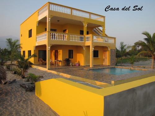 Casa Del Sol from Playa Vida Honduras'