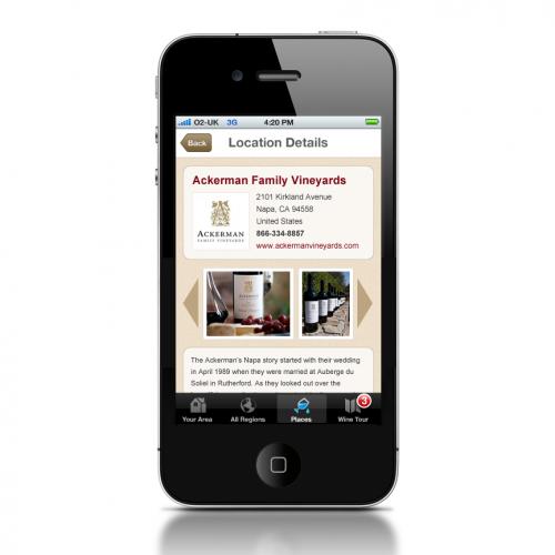 WineMaps Mobile App'
