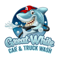 Great White Car & Truck Wash Logo