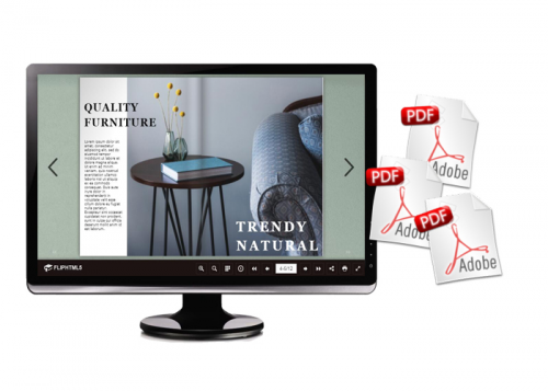 FlipHTML5 Rolls out Furniture Magazine Templates'