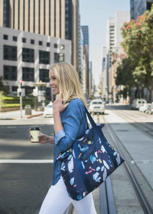 Kaleido Concepts Lifestyle Navy Tidal Tote
