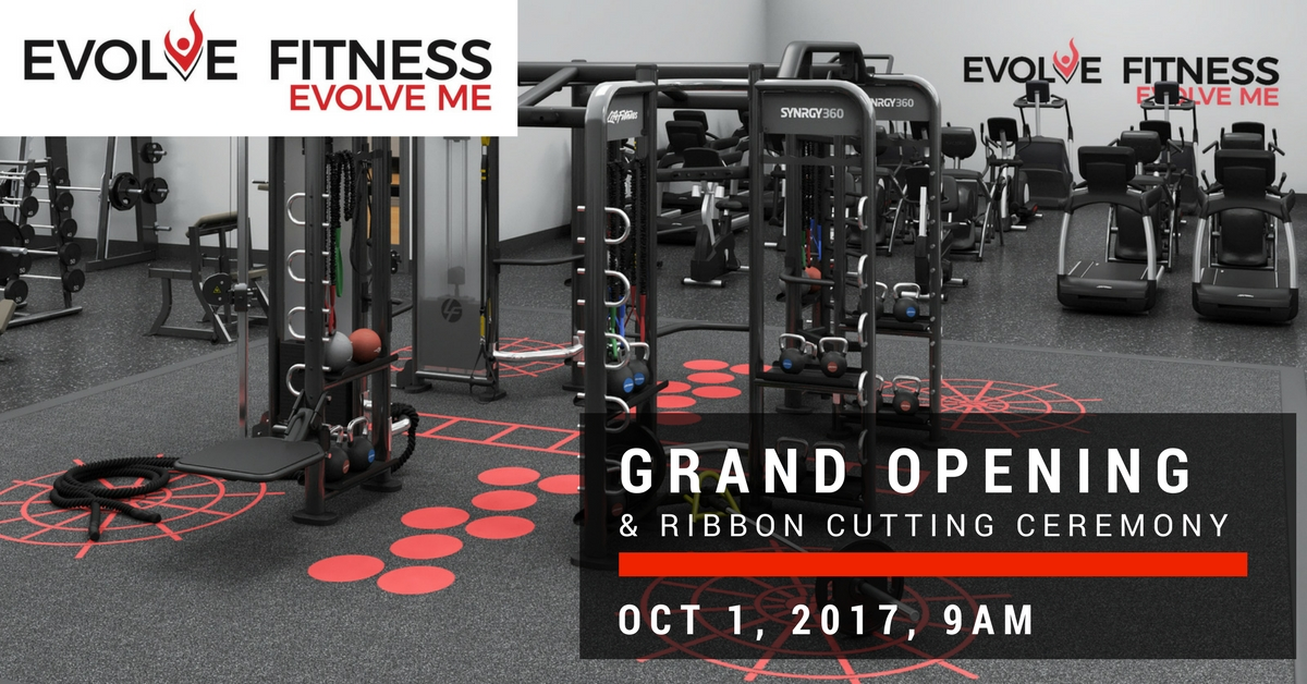 Evolve Fitness Announces Grand Opening Oct. 1, 2017