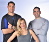 Evolve Fitness' Maurice Orlando, Jason and Corrin DeMen'