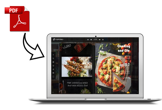 FlipHTML5 Launches Food Magazine Templates for Restaurant