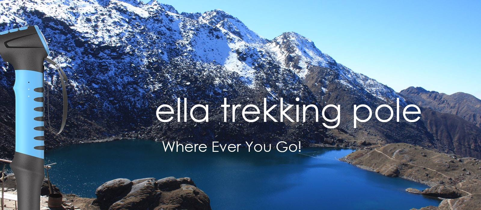 Ella All-In-One Trekking Pole Set to Launch on Indiegogo