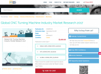 Global CNC Turning Machine Industry Market Research 2017
