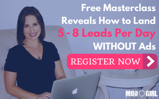 Register for the B2B Lead Gen Masterclass'