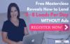 Register for the B2B Lead Gen Masterclass'