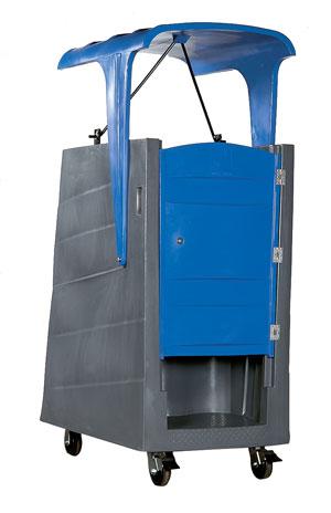 Elevator Portable Restroom'