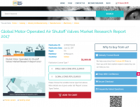 Global Motor Operated Air Shutoff Valves Market Research