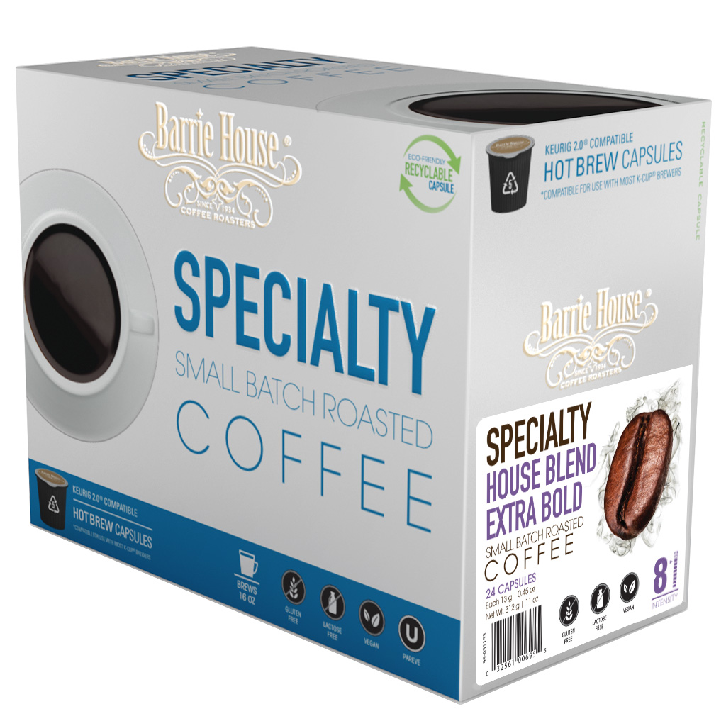 Barrie House Blend Extra Bold K-cups